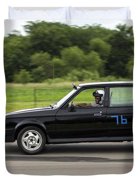 Car No. 76 - 06 Duvet Cover