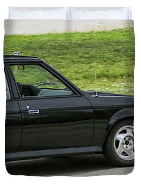 Car No. 76 - 08 Duvet Cover