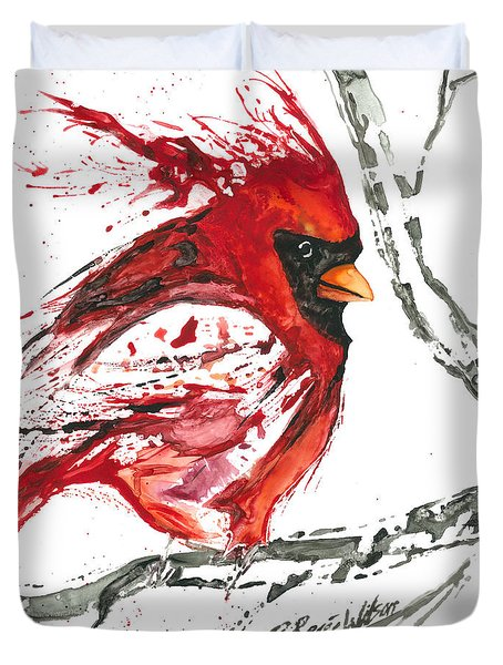 Cardinal Direction Duvet Cover