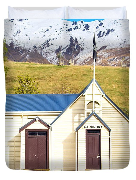 Cardrona Schoolhouse Duvet Cover