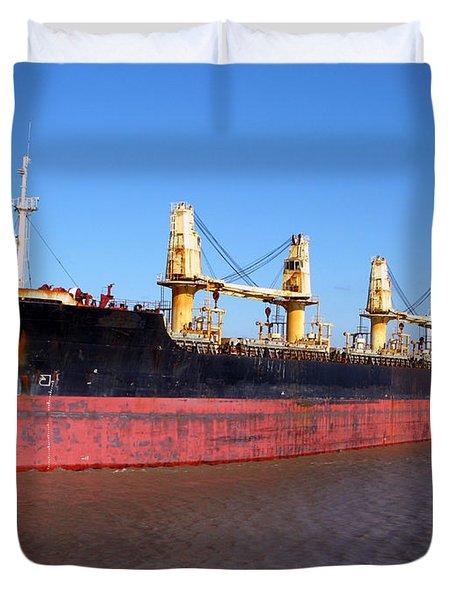 Cargo Ship Duvet Cover