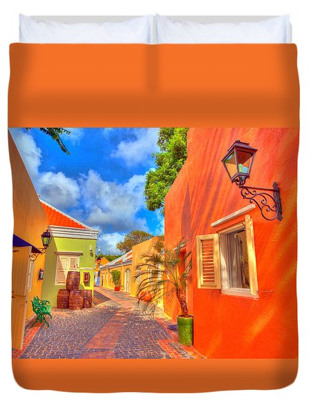 Caribbean Dream Duvet Cover