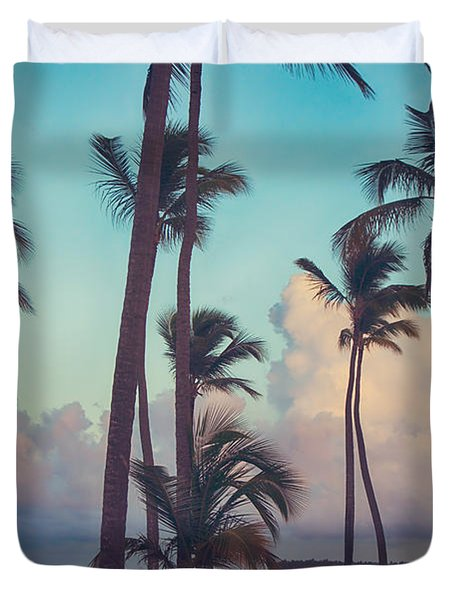Caribbean Dreams Duvet Cover