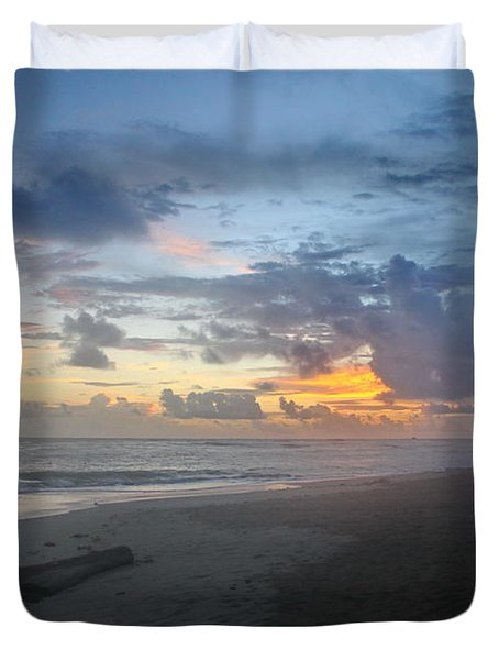 Caribbean Sunrise Duvet Cover