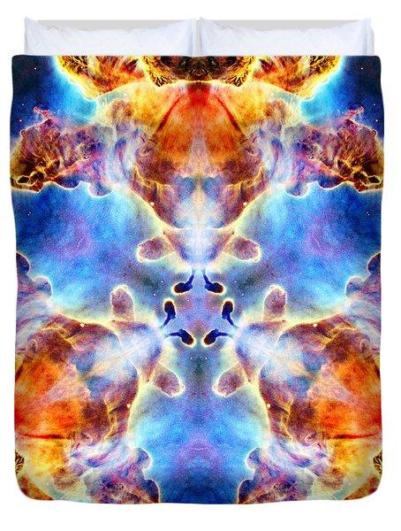 Carina Nebula Vi Duvet Cover