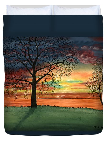 Carla's Sunrise Duvet Cover