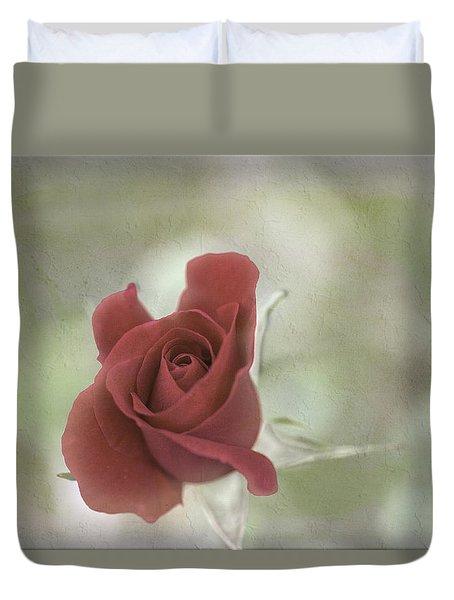 Duvet Cover featuring the photograph Carmen by Elaine Teague