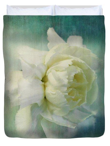 Carnation Duvet Cover by Priska Wettstein
