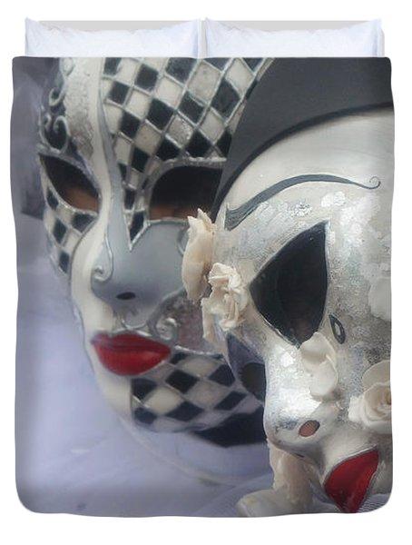 Carnevale Di Venezia 119 Duvet Cover