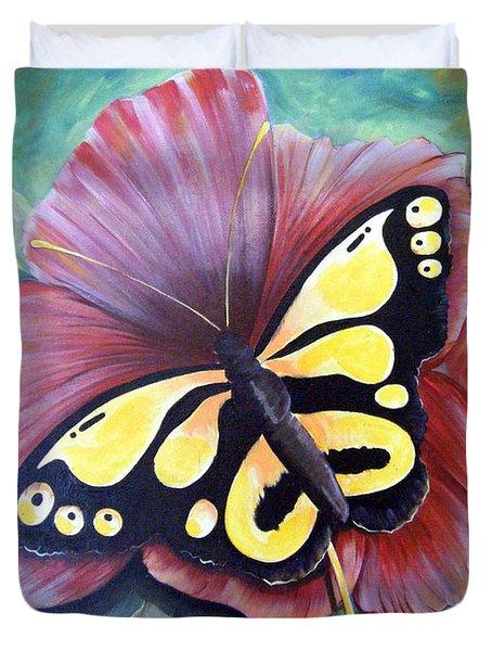 Carnival Butterfly Duvet Cover