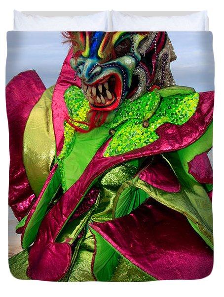 Carnival On The Beach Duvet Cover