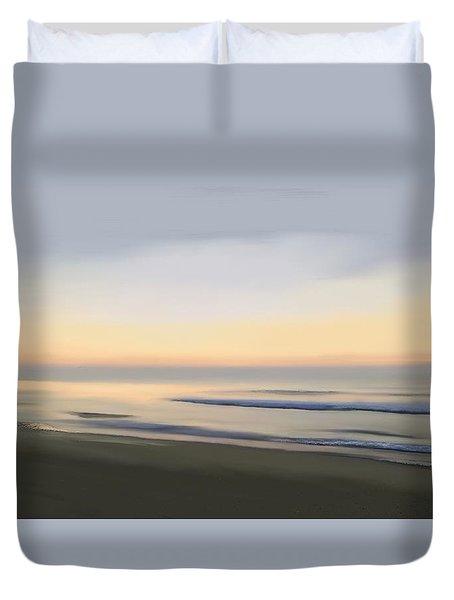Duvet Cover featuring the digital art Carolina Morning Glory by Anthony Fishburne
