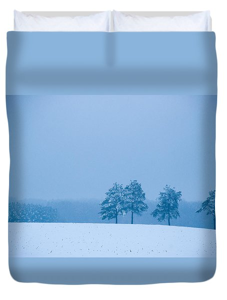 Carolina Snow Duvet Cover