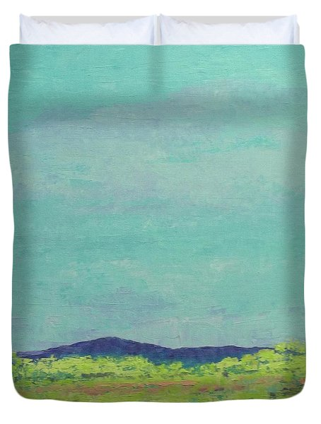 Carolina Spring Day Duvet Cover