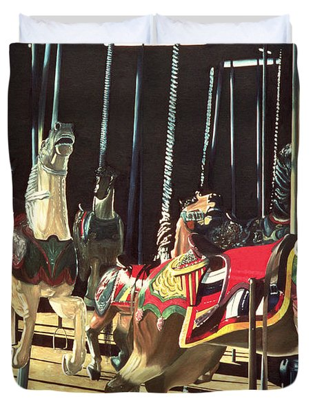 Carousel Duvet Cover by Anthony Butera