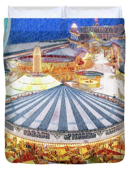 Carousel Waltz Duvet Cover
