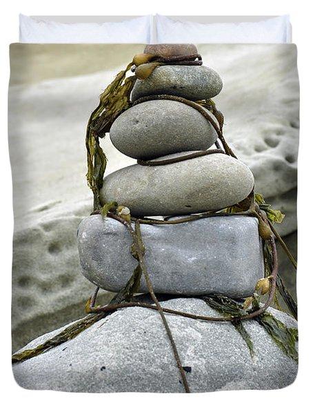 Carpinteria Stones Duvet Cover