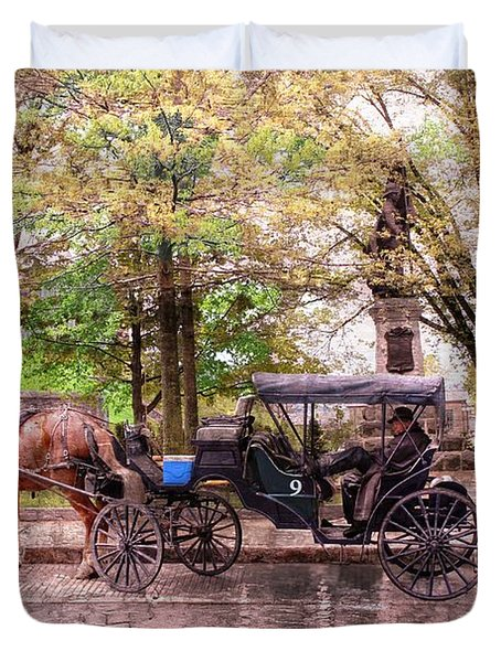 Carriage Rides Series 03 Duvet Cover