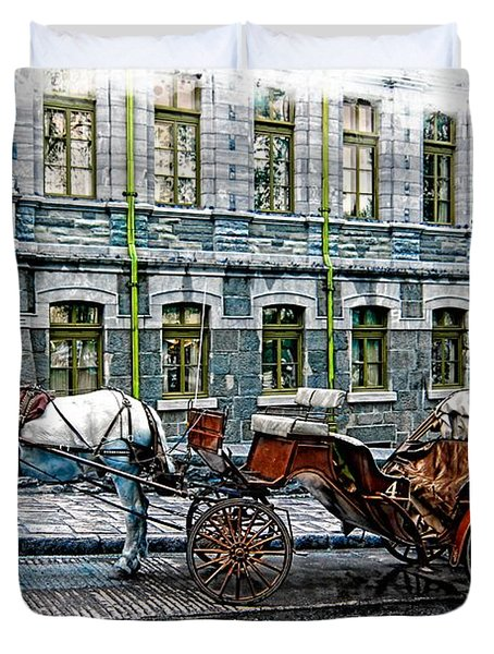 Carriage Rides Series 06 Duvet Cover