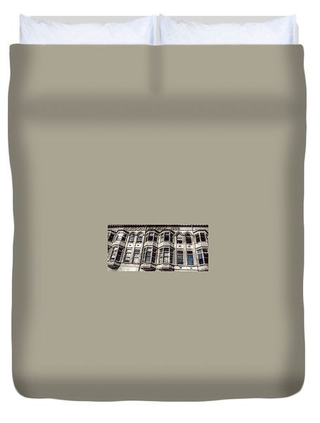 Carson Block Duvet Cover by Melanie Lankford Photography
