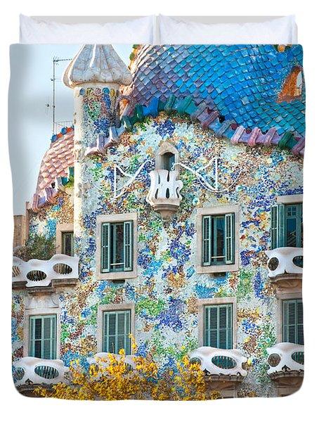 Casa Batllo - Barcelona Duvet Cover