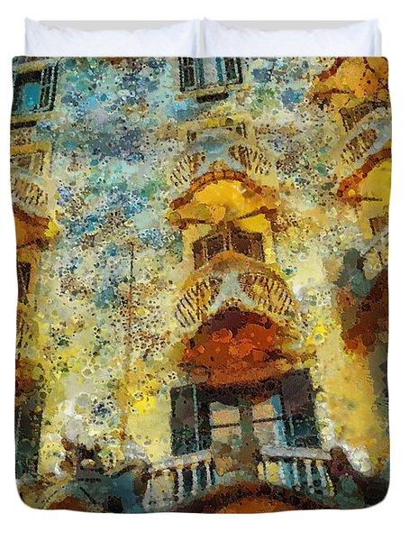 Casa Battlo Duvet Cover by Mo T