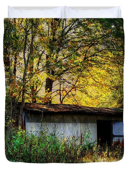 Casa Fantasma Duvet Cover