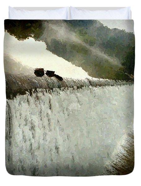 Cascade Duvet Cover