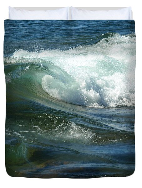 Cascade Wave Duvet Cover