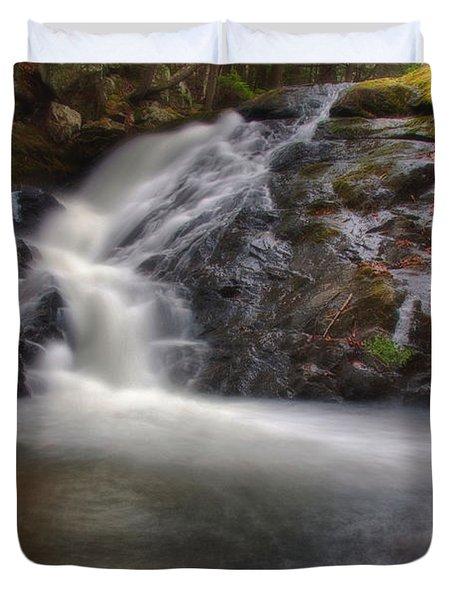 Cascades Of Joy Duvet Cover