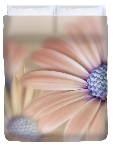 Cascading Daisies Duvet Cover by David and Carol Kelly