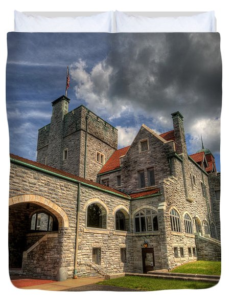 Castle Administration Building Duvet Cover