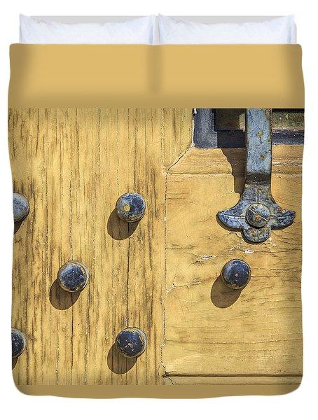 Castle Door II Duvet Cover