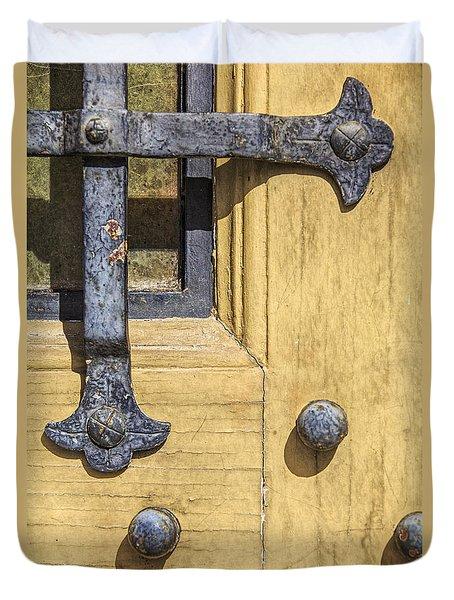Castle Door IIi Duvet Cover