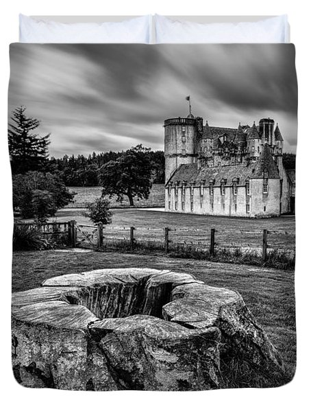 Castle Fraser Duvet Cover