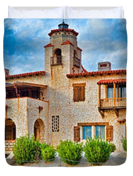 Castle In A Desert, Scottys Castle Duvet Cover