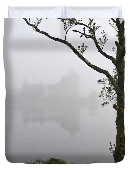 Castle Kilchurn Tree Duvet Cover