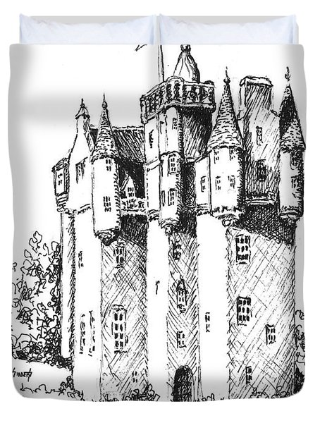 Castle Duvet Cover