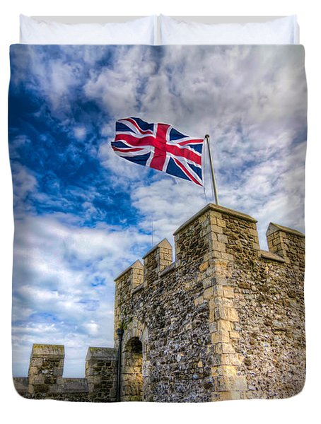 Castle Top Duvet Cover by Tim Stanley