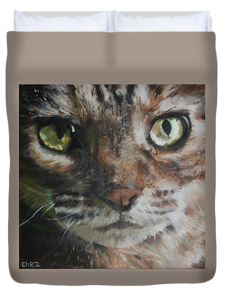CaT Duvet Cover by Cherise Foster