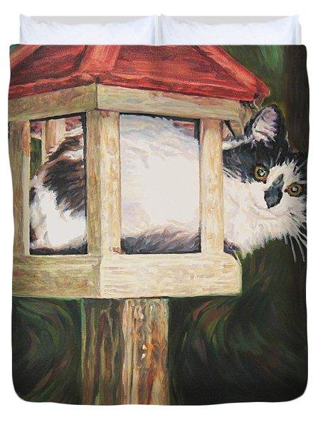 Cat House Duvet Cover
