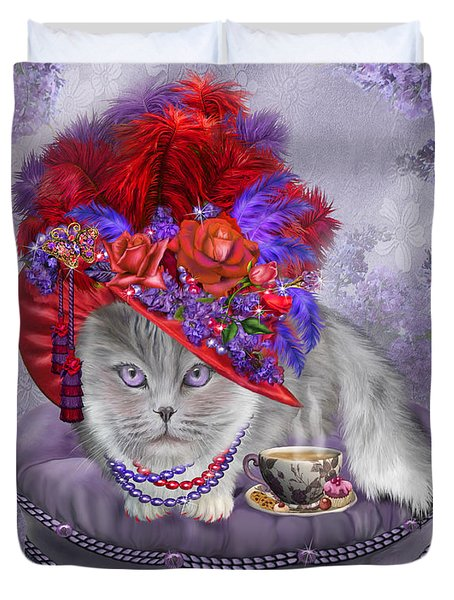 Cat In The Red Hat Duvet Cover