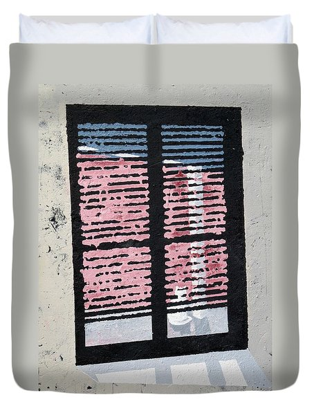Cat N Window Duvet Cover