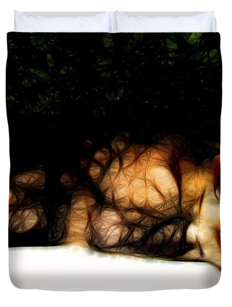 Cat Nap 1 Duvet Cover