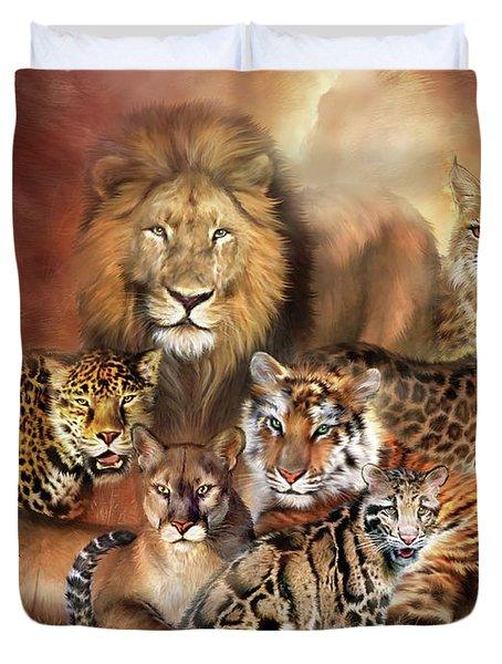 Cat Power Duvet Cover