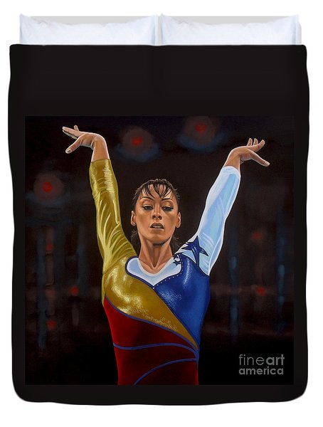 Catalina Ponor Duvet Cover by Paul Meijering