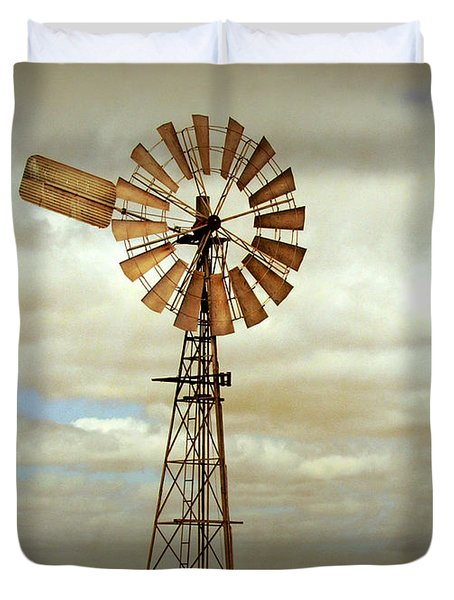 Catch The Wind Duvet Cover