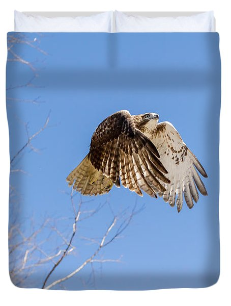 Catching The Sun Duvet Cover by Bill Wakeley