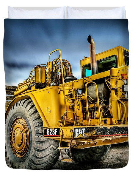 Caterpillar Cat 623f Scraper Duvet Cover