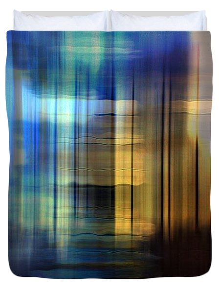 Cathedral 2 Duvet Cover by Terence Morrissey